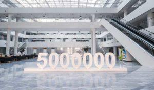 CMH Haval- Haval-5-million-global-sales-lobby