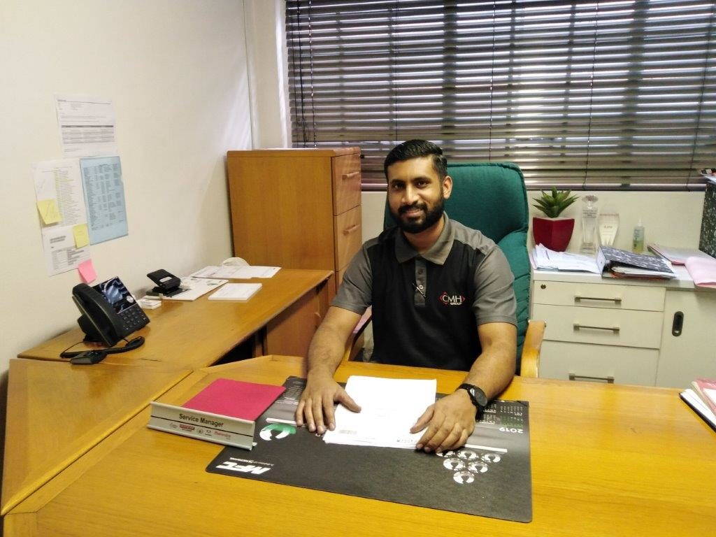 Ray Ahmed Workshop manager