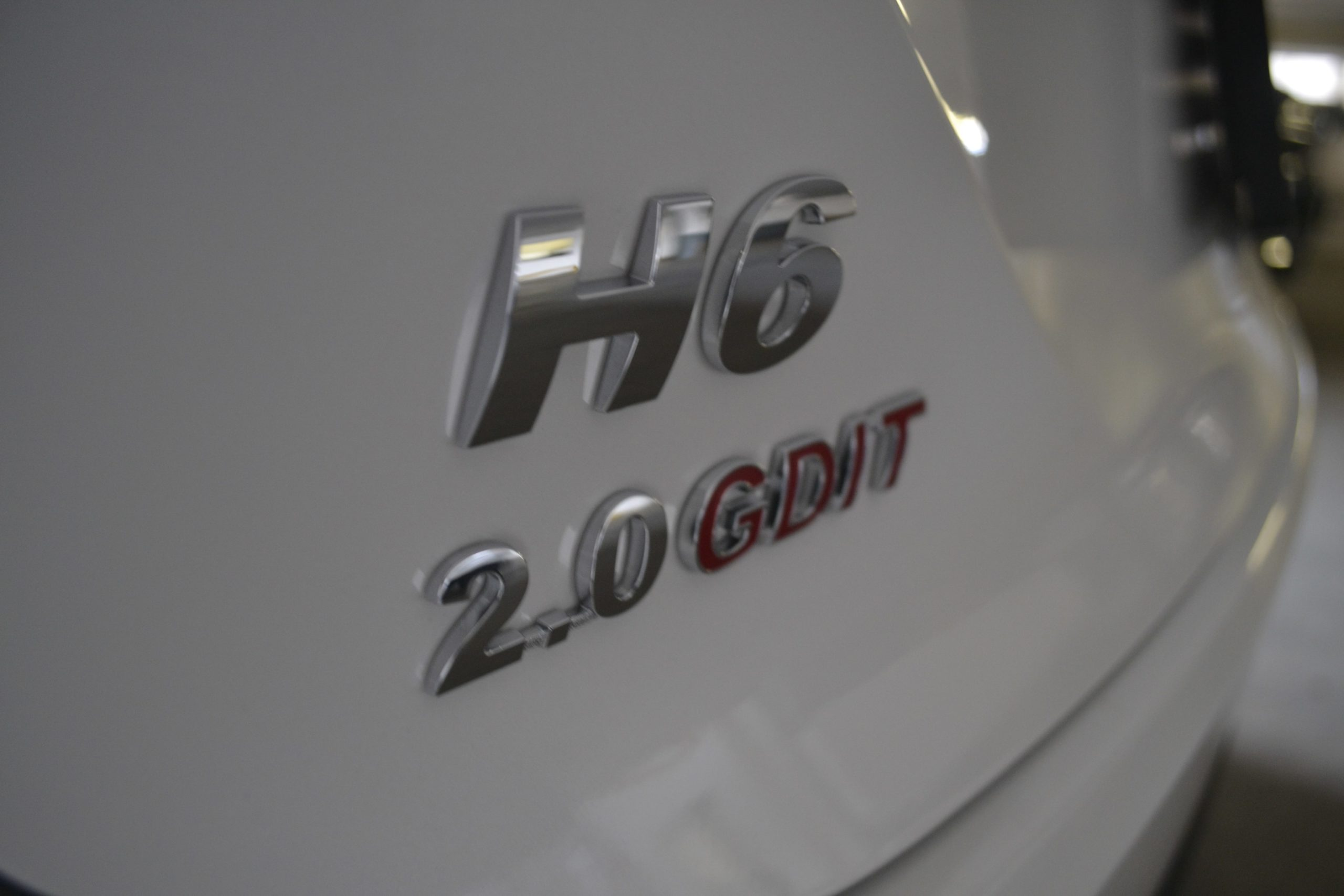 All-New Haval H6 Badge